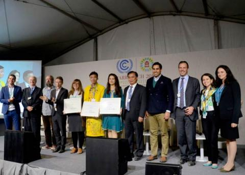 Youth Climate Action Awards Ceremony at COP23