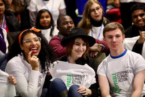 Youthful Welcome to COP24 Climate Conference - Young and Future Generations Day