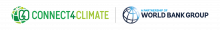 Connect4Climate Logo (A Partnership of the World Bank Group)