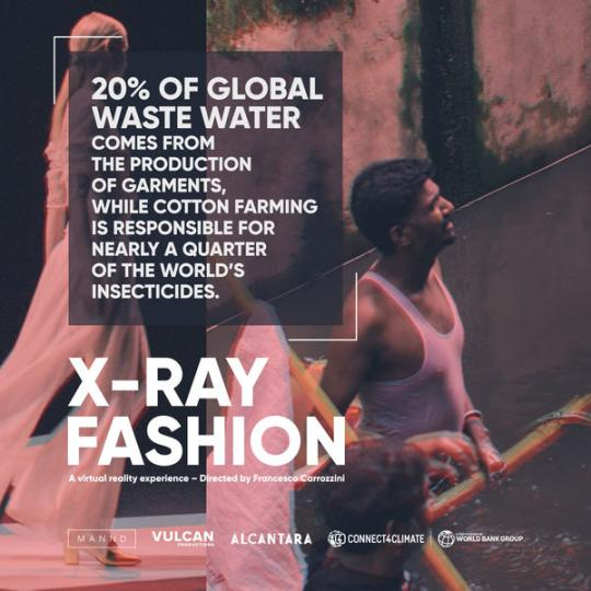 As more people buy more clothes increasingly our oceans are impacted, affecting life below water.