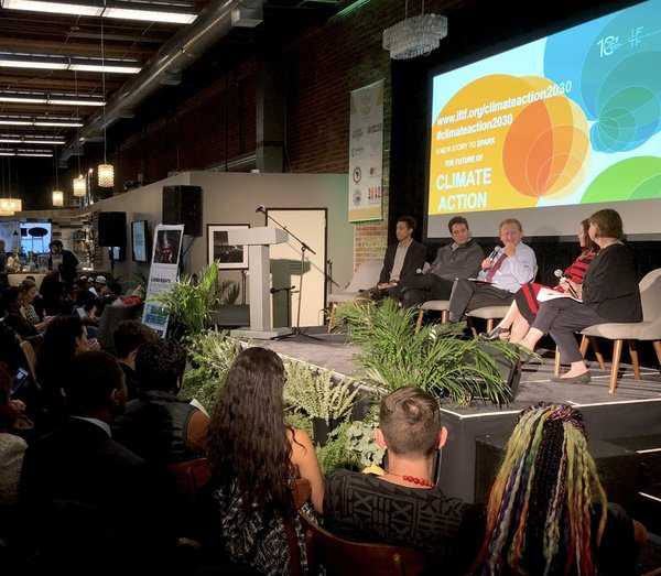 National governments urged to step up climate action by 2020 at the end of landmark summit