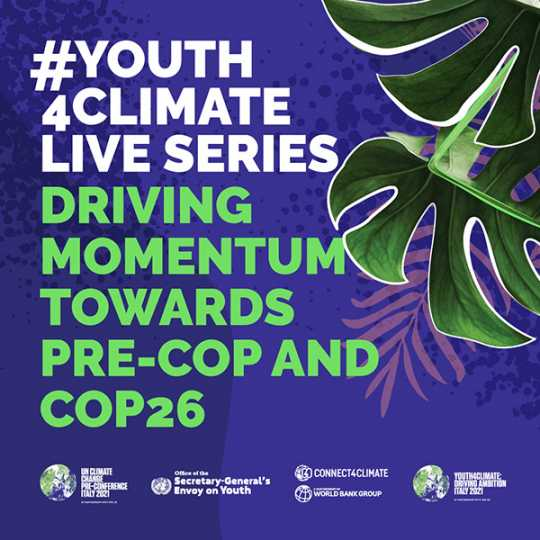 Youth4Climate Live Series - Concept Note