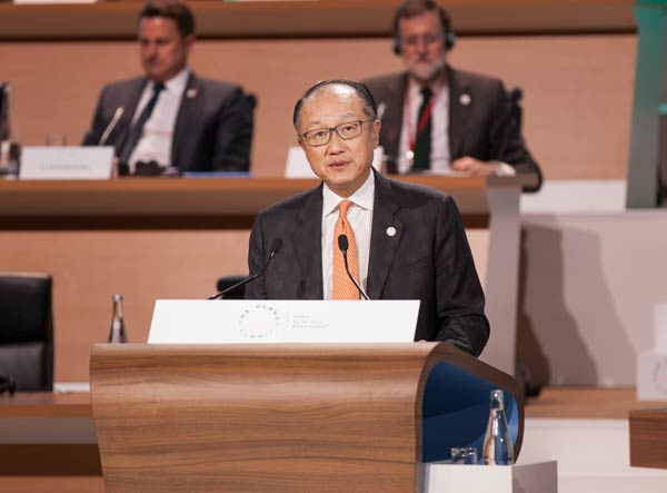 High-Level Session Opening Remarks by World Bank Group President Jim Yong Kim