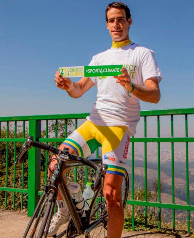 Antonio Garnero, Brazilian Cycling Champion, 2014