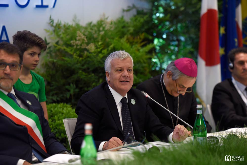 Gian Luca Galletti, Italian Minister for Environment, Land and Sea