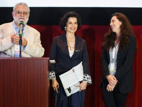 Bianca Jagger, Fundadora y Presidenta de la Fundación de Derechos Humanos Bianca Jagger, es anunciada como Embajadora de Film4Climate en FICG in LA