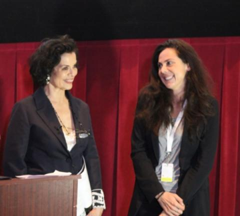 Bianca Jagger, Founder and President of the Bianca Jagger Human Rights Foundation, announced Film4Climate Ambassador at FICG in L.A.
