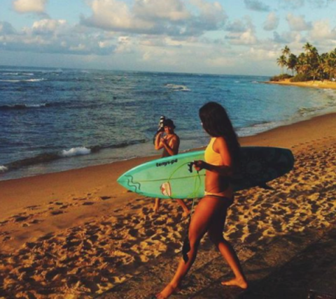 #Sport4Climate surfing in Brazil