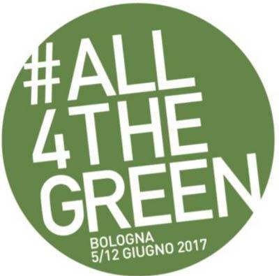 All4theGreen, Bologna, 5/12 July, 2017