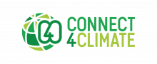 Connect4Climate Logo (Vertical Stack Version)