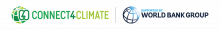 Connect4Climate Logo (Supported by the World Bank Group)